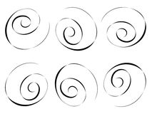Swirley background Royalty Free Stock Photography