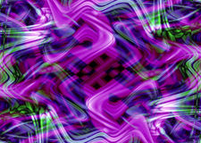 Swirling abstract background. Purple and green flowing abstract background Royalty Free Stock Photography