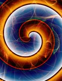 Swirling abstract stock images