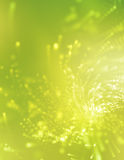 Swirling background. Green swirling background with a high-tech look Stock Image