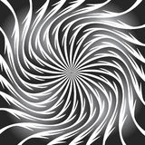Swirling background. Abstract shapes forming vortex phenomenon Stock Photos
