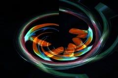 Swirling Bird of Paradise Royalty Free Stock Image