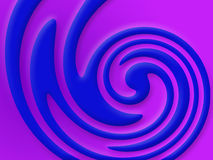 Swirling colors royalty free stock images