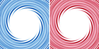 Swirling frame. Set of two wonderful swirling backdrop with space for text Royalty Free Stock Photography