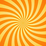 Swirling radial pattern background. Vector illustration Royalty Free Stock Photos