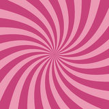 Swirling radial pattern background. Vector illustration Royalty Free Stock Images