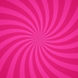 Swirling Radial Pink Pattern Background. Vector Illustration Stock Photography