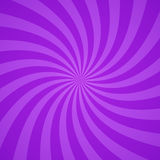 Swirling radial purple pattern background. Vector illustration Stock Photo