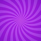 Swirling radial purple pattern background. Vector illustration. Swirling radial bright purple pattern background. Vector illustration for swirl design. Vortex stock illustration