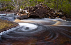 Swirling water Stock Images