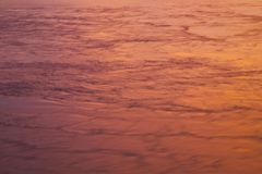 Swirling Water. From Lake reflecting sunset stock photos