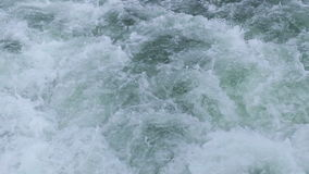 Swirling water surface
