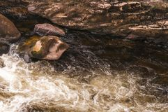 Swirling Water royalty free stock image
