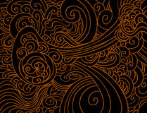 Swirling Wave Pattern Royalty Free Stock Photo
