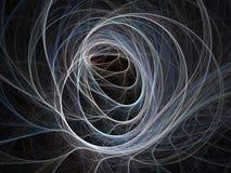 swirls Arkivfoto