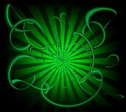 swirls Royaltyfri Foto