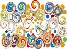 swirls Royaltyfria Bilder