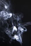 Swirls and art-magic smoke Stock Photo