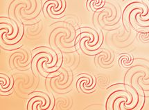 Swirls background. A colorful background with swirls all around Royalty Free Stock Image