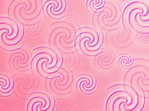Swirls background Stock Image