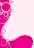 Swirls & Curls. Illustration background of swirls, circles and curls Stock Photography