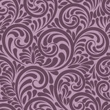 Swirls and curls seamless abstract background Stock Photo