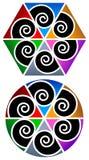 Swirls designs Stock Image