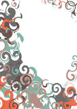 Swirls Elements Royalty Free Stock Photos