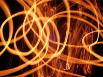 Swirls of Flame Royalty Free Stock Photos