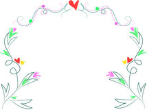 Free Swirls, Hearts, And Leaf Design Royalty Free Stock Photos - 7380308