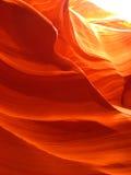 Swirls of Orange Stock Photography