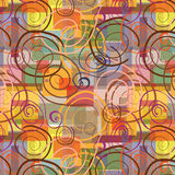 Swirls seamless Royalty Free Stock Photos