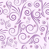 Swirls seamless background Stock Images