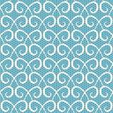 Swirls seamless pattern Royalty Free Stock Photos