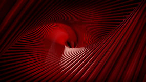 Swirls Stripes Red Royalty Free Stock Photo