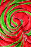 Swirls of sweets Royalty Free Stock Image