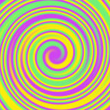 Swirls and Twirls Abstract Colorful Background Royalty Free Stock Image