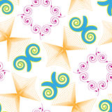 Swirls vector Royalty Free Stock Photography