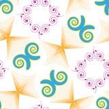Swirls vector Royalty Free Stock Photography