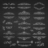 Swirls Vintage Design Elements Royalty Free Stock Photos