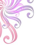 Swirls Web Page Background Stock Photo