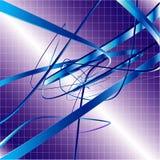 swirlvektor för bakgrund 3d stock illustrationer