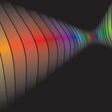 swirly抽象格式 免版税库存图片