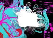 swirly抽象背景 库存图片
