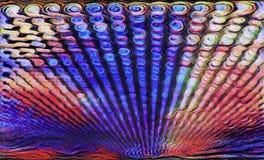 Swirly alinha - a imagem de fundo abstrata fotos de stock