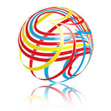 Swirly Ball Stock Photography
