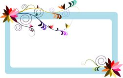 Swirly Banner Stock Images