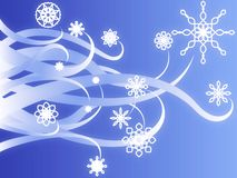 Swirly Blizzard Stock Images