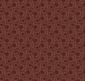 Swirly brown background Royalty Free Stock Photography
