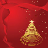 Swirly Christmas Royalty Free Stock Image